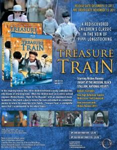 Treasure Train Sale Sheet