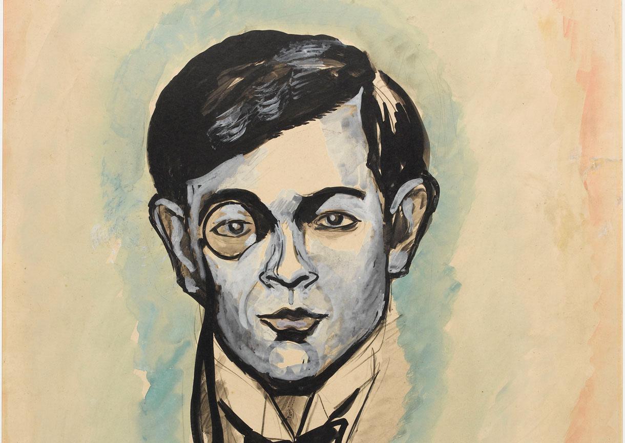 """""""Tristan Tzara"""" par Francis Picabia(1925)"""