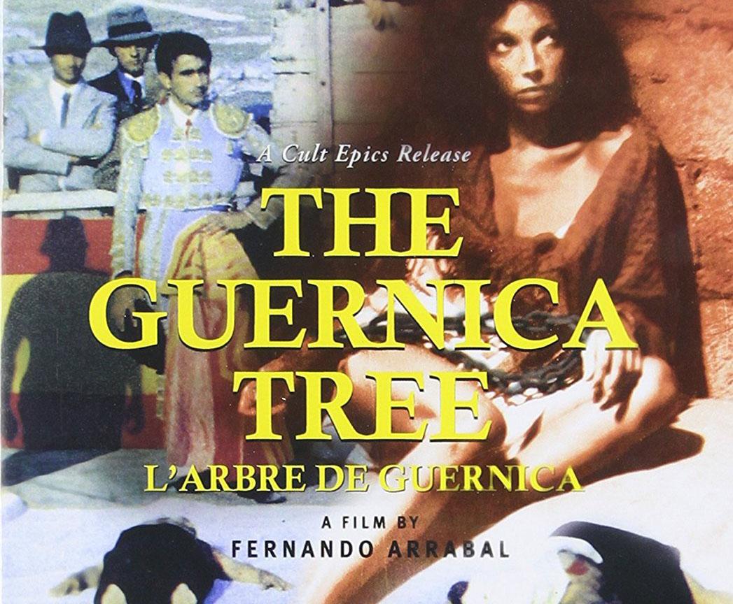 """Affiche du film """"L'arbre de Guernica"""" réalisé et produit par Fernando Arrabal."""