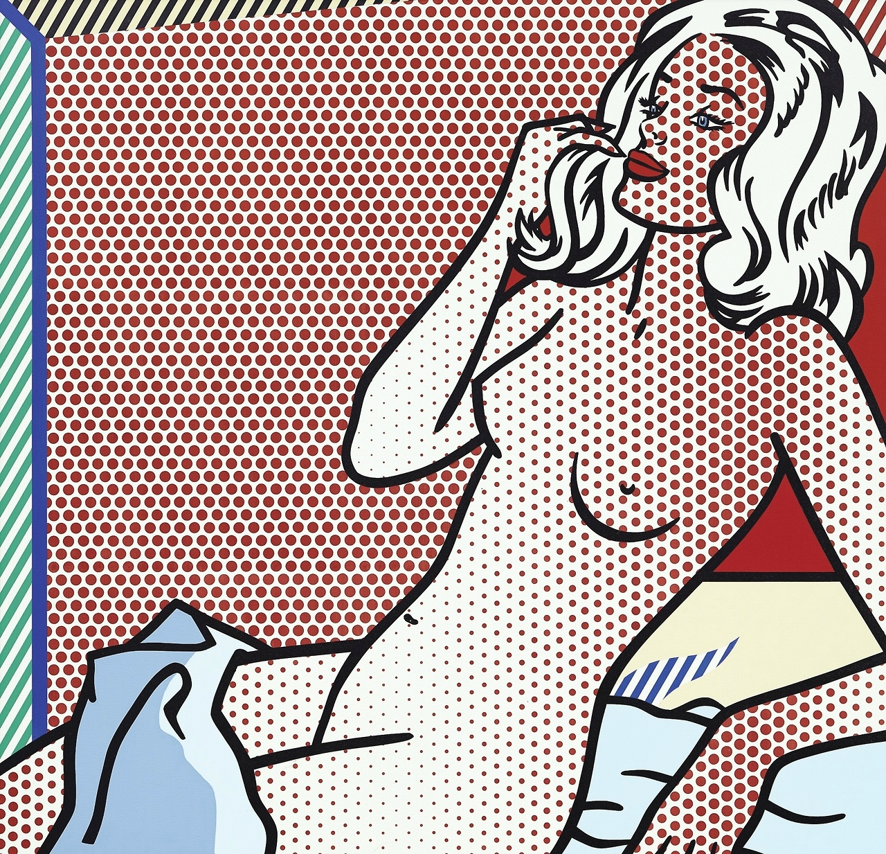 Roy Lichtenstein (1923 - 1997), Nude Sunbathing