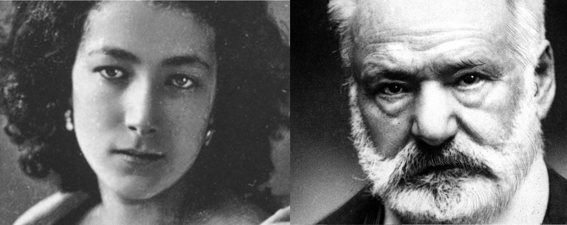Sarah Bernardt et Victor Hugo