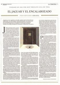 """Reprise de la """"Tercera"""" (troisième page) du journal espagnol ABC - 23 octobre 2017"""