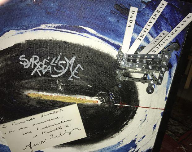 """""""André Breton"""" poema plástico (poème plastique) de F.Arrabal:"""