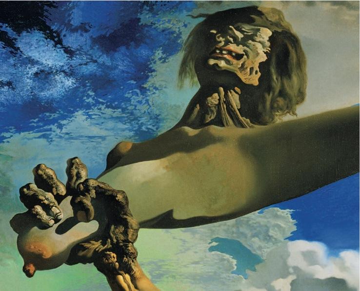 Construction molle avec Haricots bouillis : Prémonition de la guerre civile, 1936, Dalí.