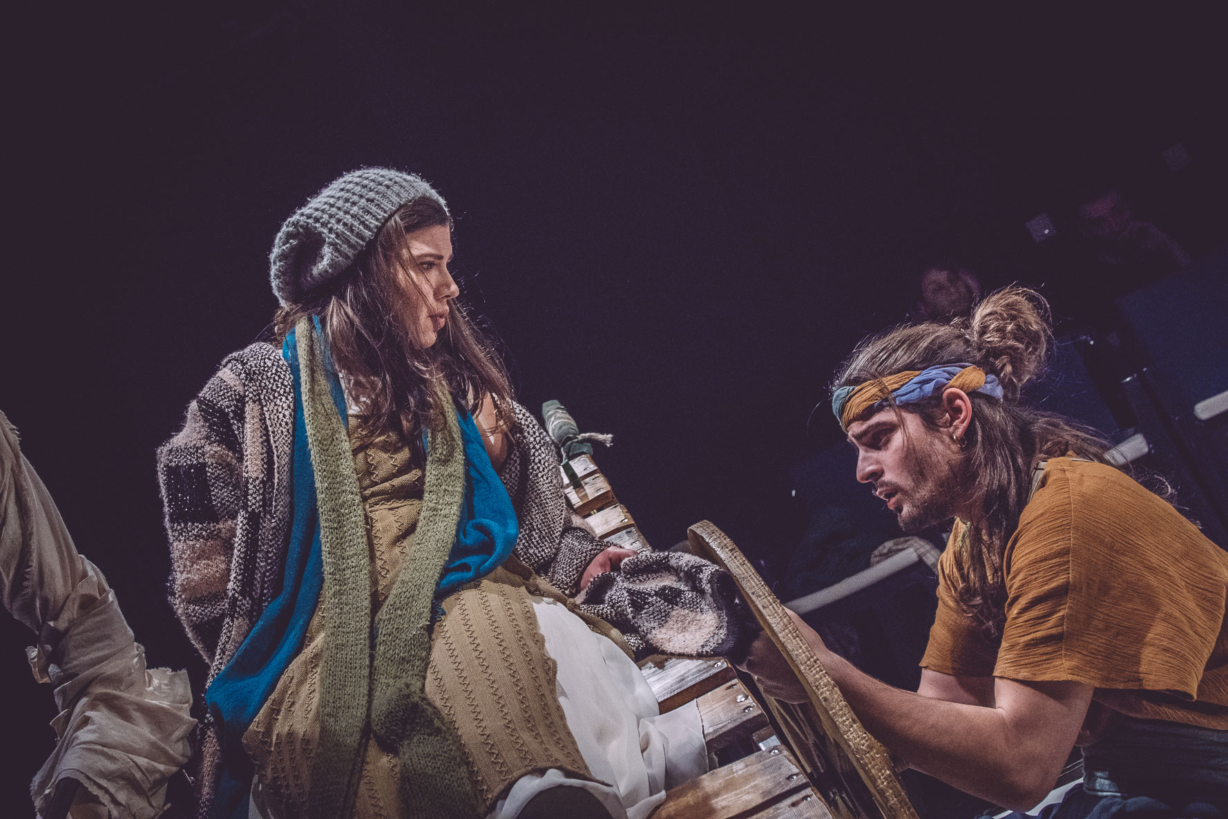Fando et Lis, lors d'une représentation à Thessalonique.