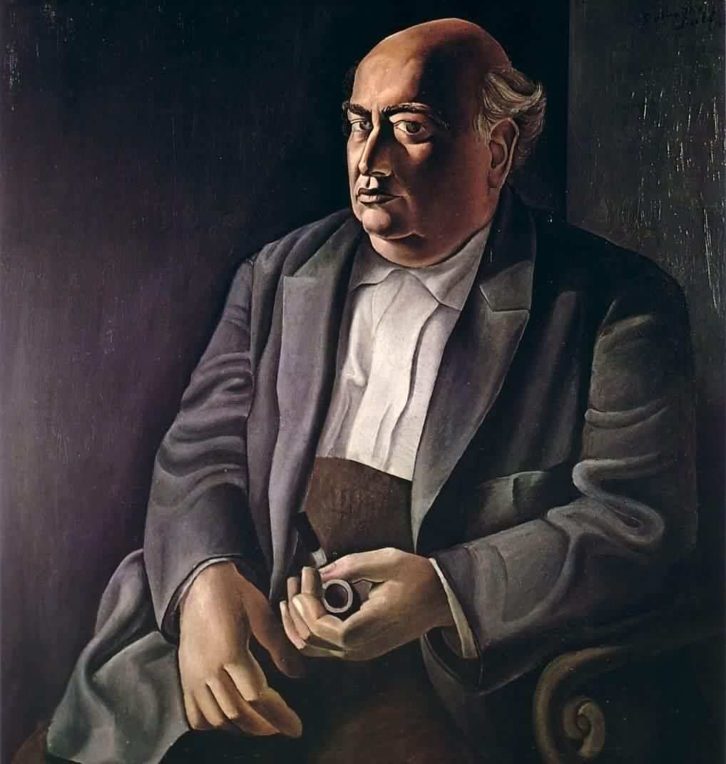 Salvador Dalí, Retrato de su padre (1925), actualmente en Londres.
