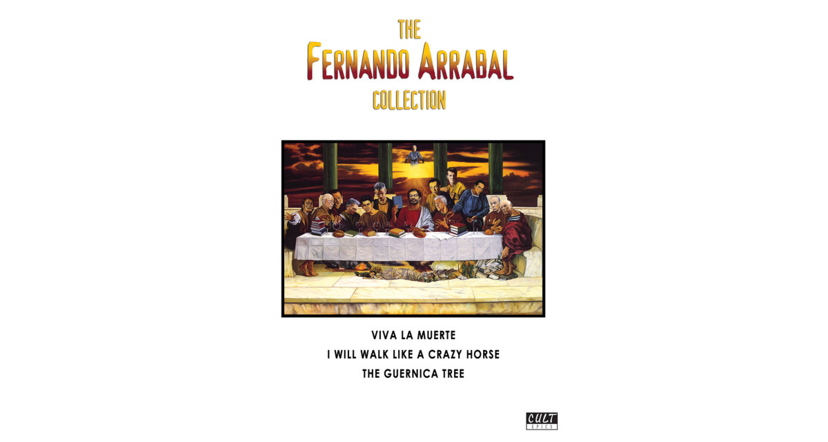 The Fernando Arrabal Collection, jaquette du DVD.