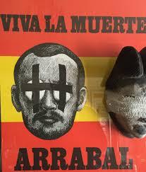 Viva la muerte, poème plastique d'après Topor.