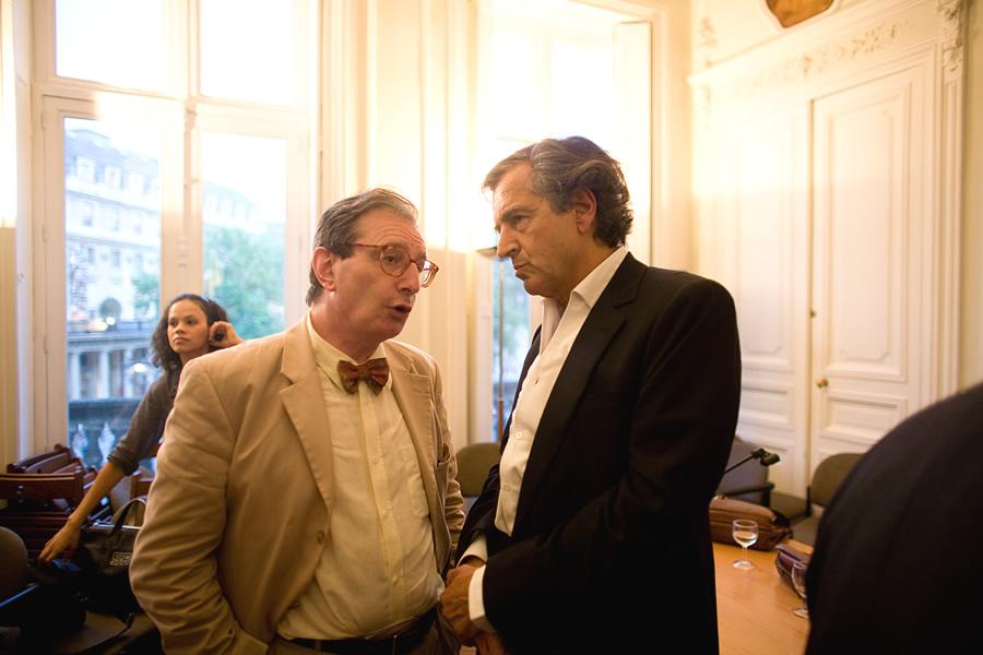 Jean-Luc Marion et Bernard-Henri Lévy
