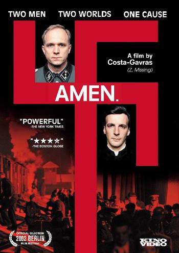 Affiche du film Amen de Costa Gavras