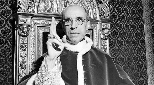 Le Pape Pie XII en 1945