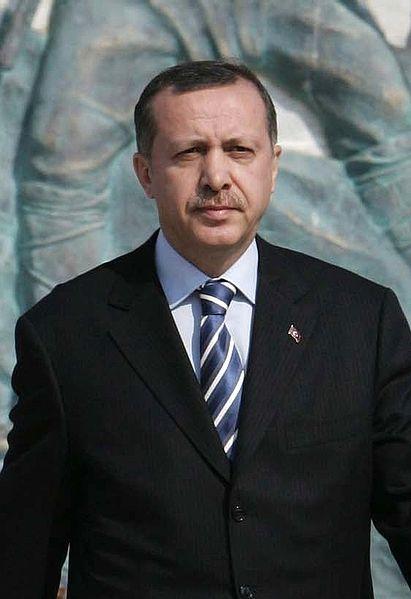 Recep Tayyip Erdoğan, premier ministre turc