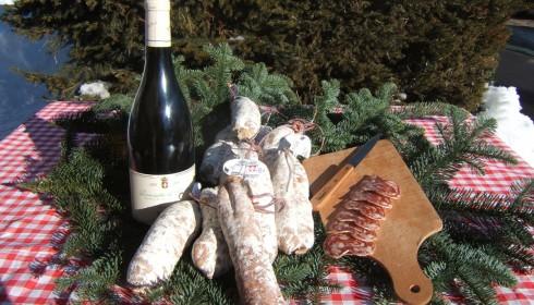 Saucisson au Roquefort (table)