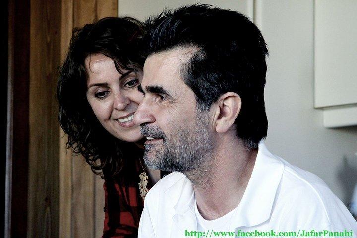 Jafar Panahi et son épouse