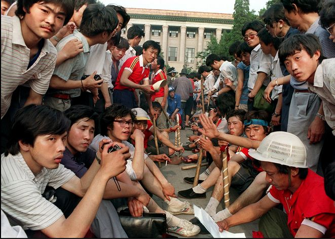 Tian Anmen 1989 _étudiants