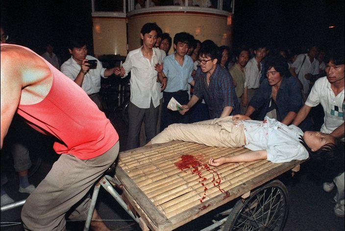 Tian Anmen 1989_blessée