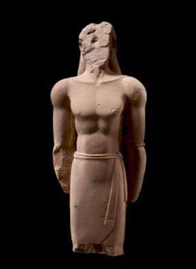 Statue lihyânite