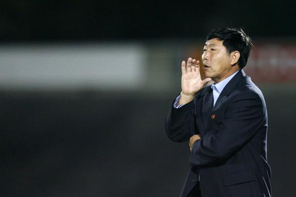Kim Jung Hun, entraîneur nord-coréen
