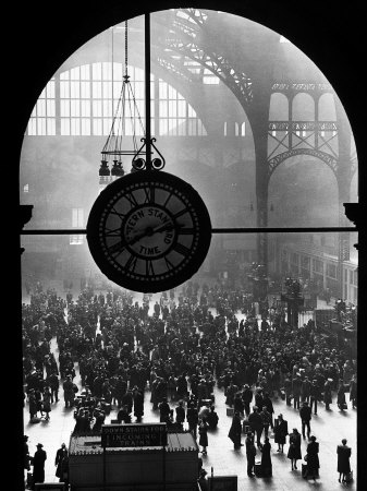 Farewell To Servicemen, Pennsylvania Station 1943.