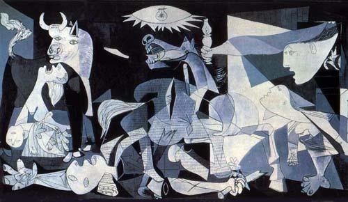 Guernica de Picasso, 1937