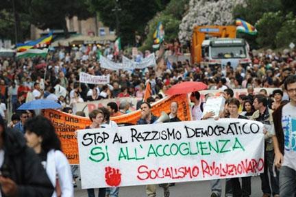 A Rome, manifestation contre la discrimination des Roms