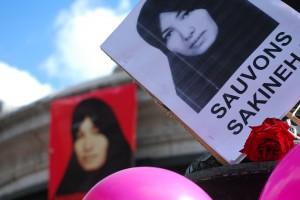 Manifestation dimanche Sakineh 3