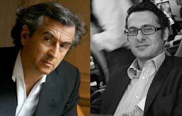 Bernard-Henri Lévy et David Abiker