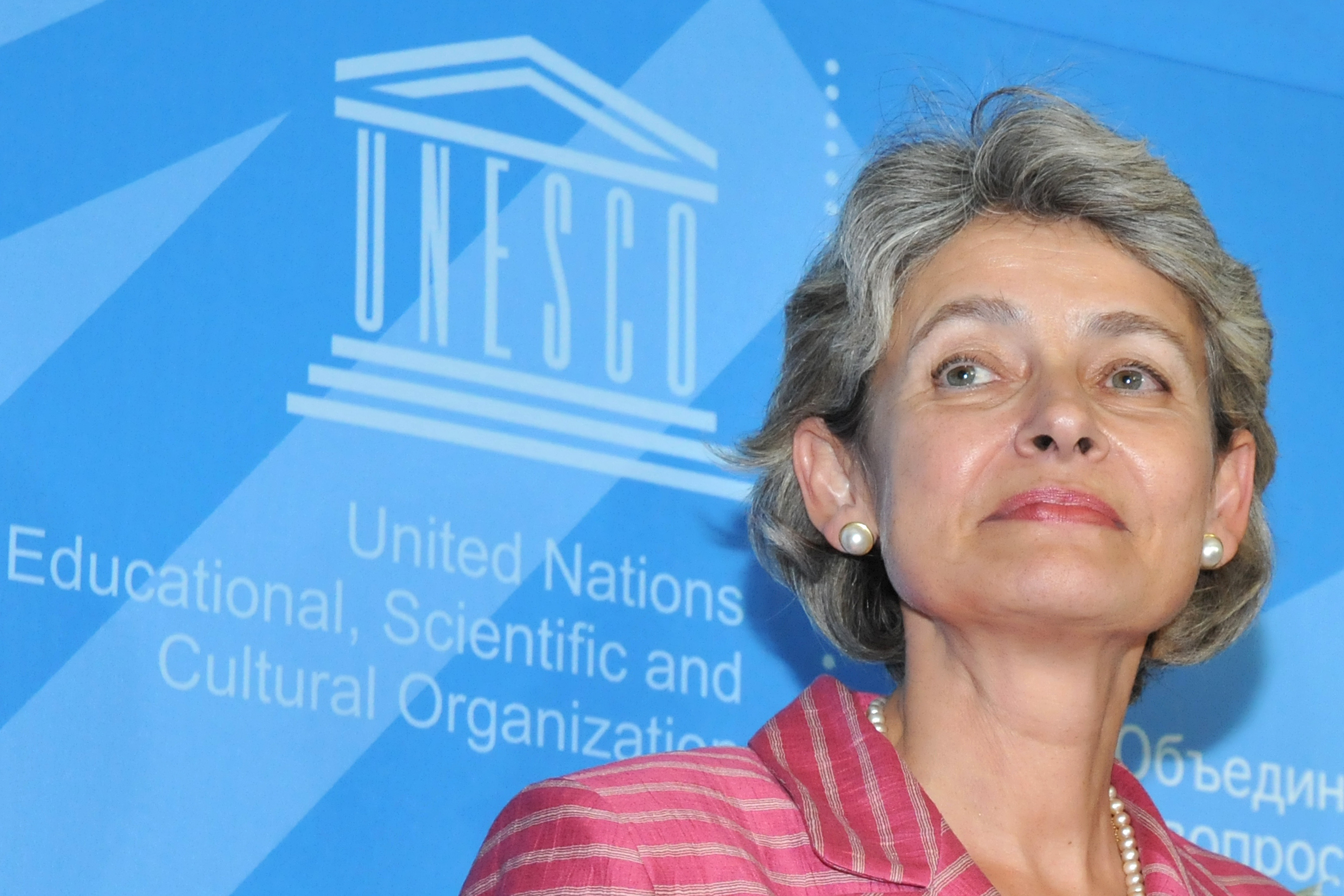 Irina Bukova, nouvelle directrice générale de l'UNESCO