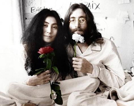 Yoko Ono et John Lennon