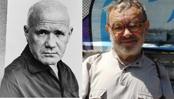 Jean Genet et Fernando Arrabal
