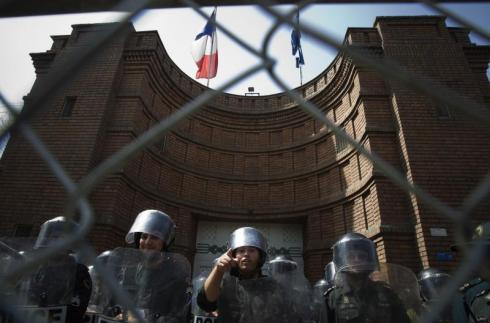 L'Ambassade de France à Téhéran