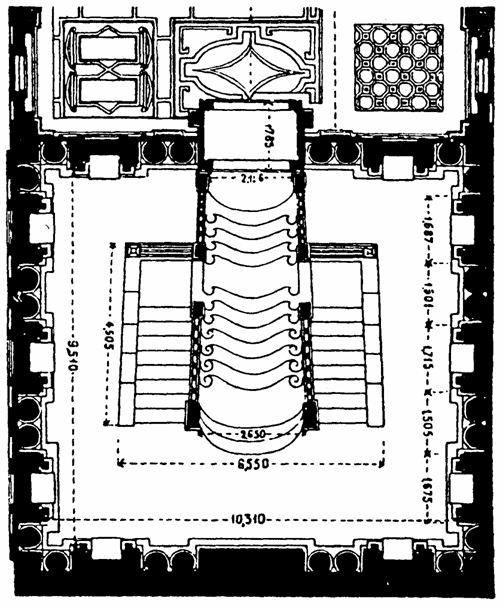 doc 2 Plan (approximatif) du Ricetto chez Wittkower