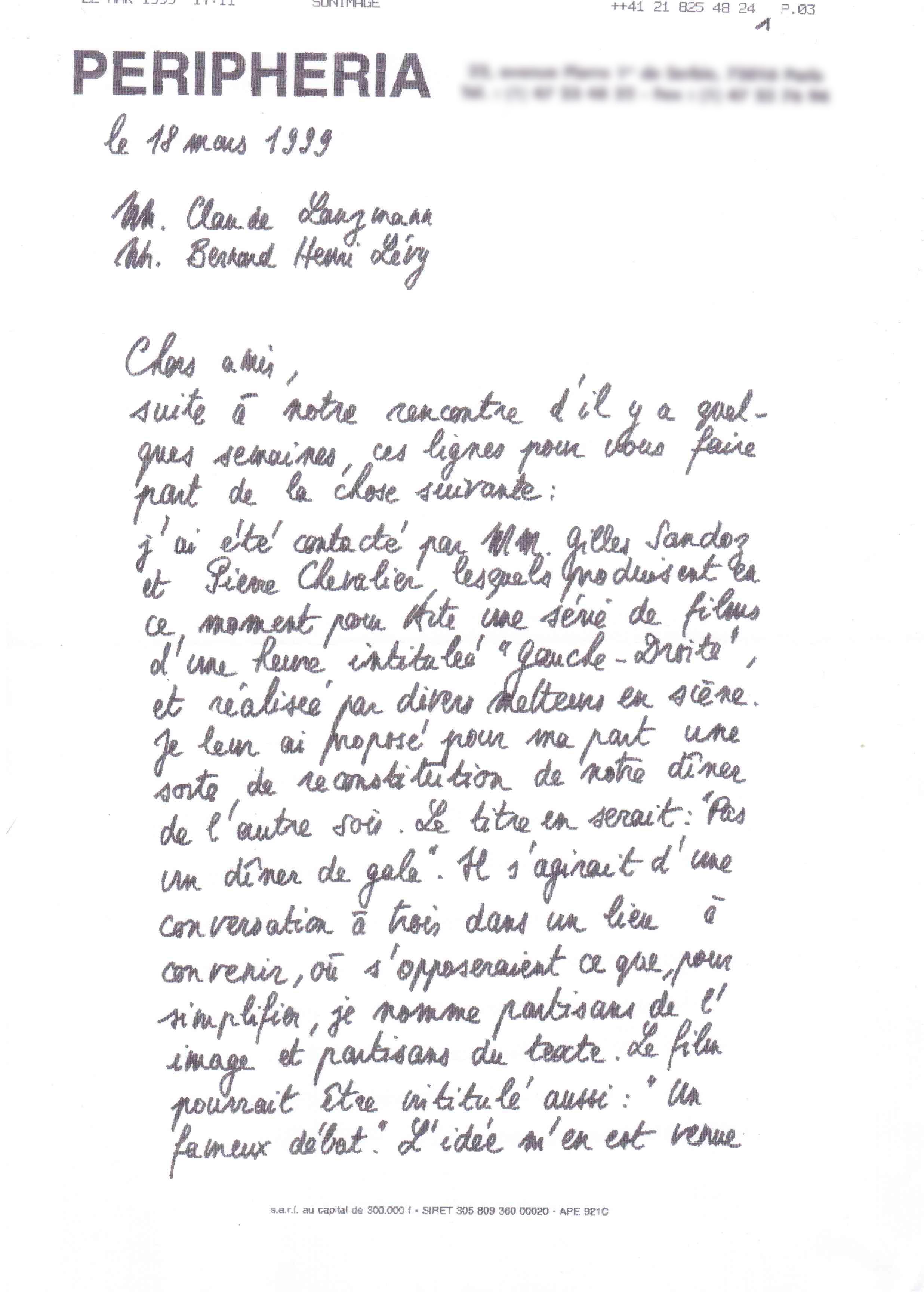 Document 1, partie 1