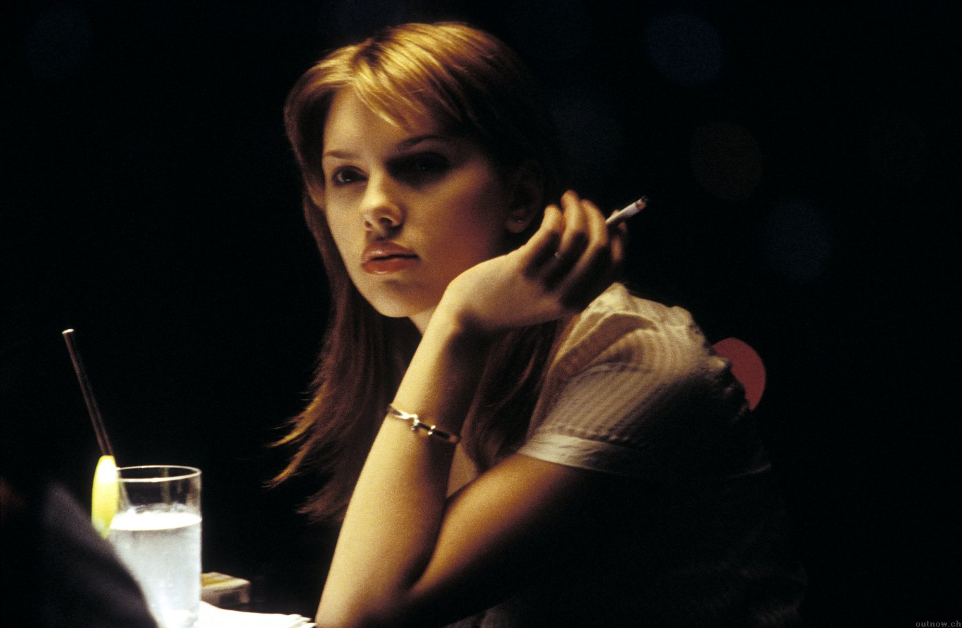 Scarlett Johansson dans Lost in Translation