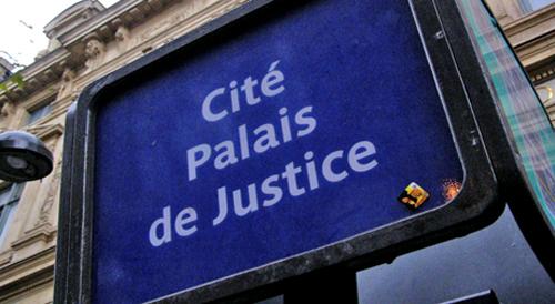 Arrêt Palais de Justice