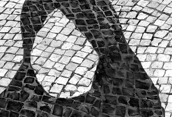 L'image de Sakineh sur un trottoir de Macau