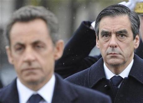 Nicolas sarkozy et François Fillon