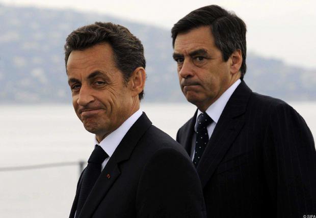 Nicolas Sarkizy et François Fillon