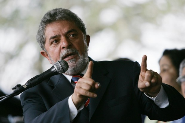 Le président Lula