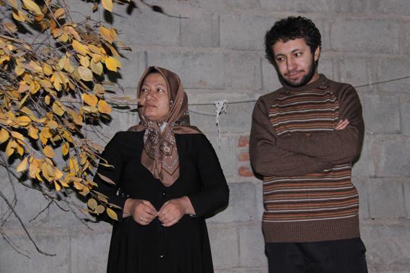 Sakineh et Sajjad (Une des photos-supercherie véhiculée par Presse-TV la veille de l'émission à change contre Sakineh)