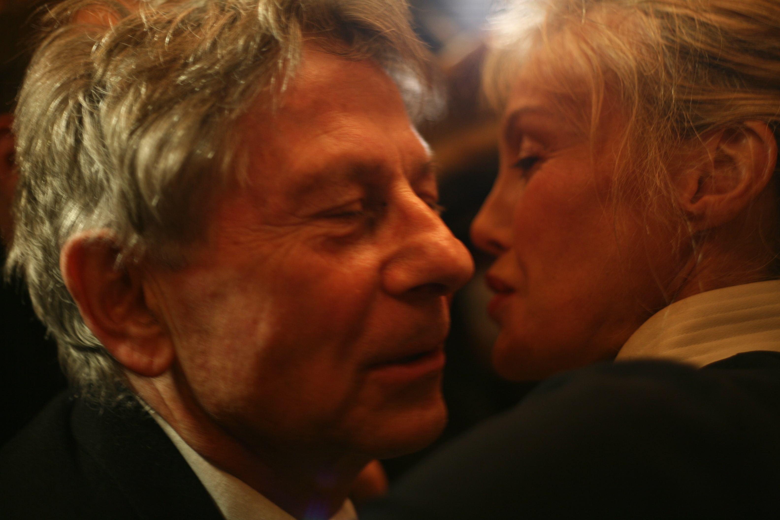 Roman Polanski et arielle Dombasle