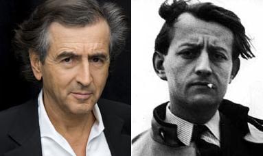 Bernard-Henri Lévy et André Malraux