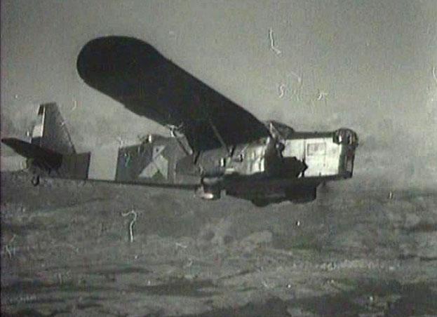 """Image tirée de """"L'espoir"""" d'André Malraux"""