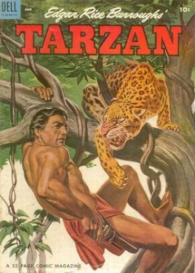Tarzan d'Edgar Rice Burroughs, Dells comics