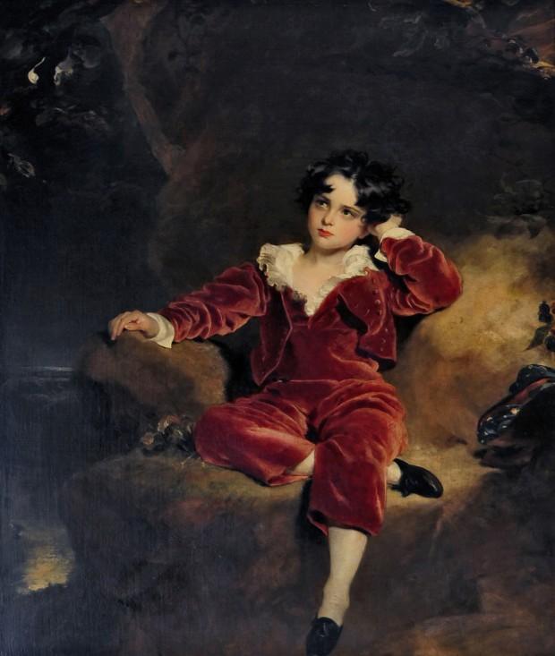 Portrait du jeune Charles Lambton