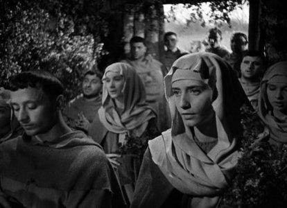 Les 11 Fioretti de Saint-François d'Assise. Un film de Roberto Rossellini
