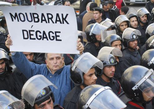 manifestation-egypte-moubarak