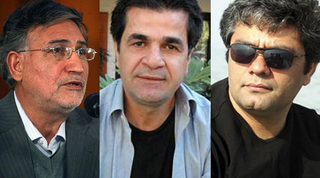 Mohammad Nourizad, Jafar Panahi et Mohammad Rasoulof