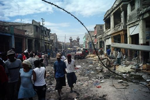 Haïti, janvier 2010