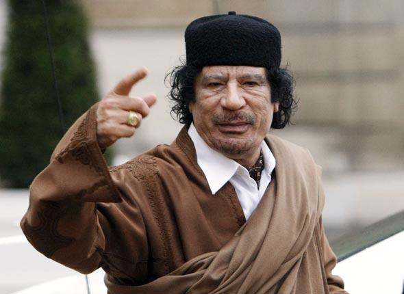 Le colonel Khadafi